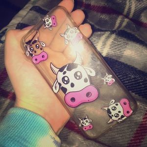 Accessories - iPhone 6s rubber cow case